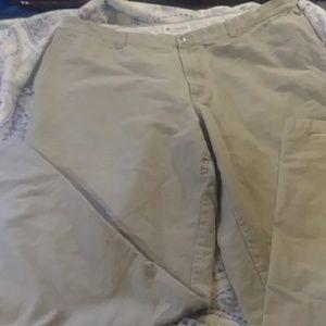 Columbia tan khaki pants  Nice shape